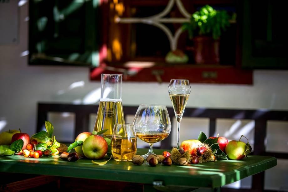 Martini Ganserl Essen in der Südsteiermark