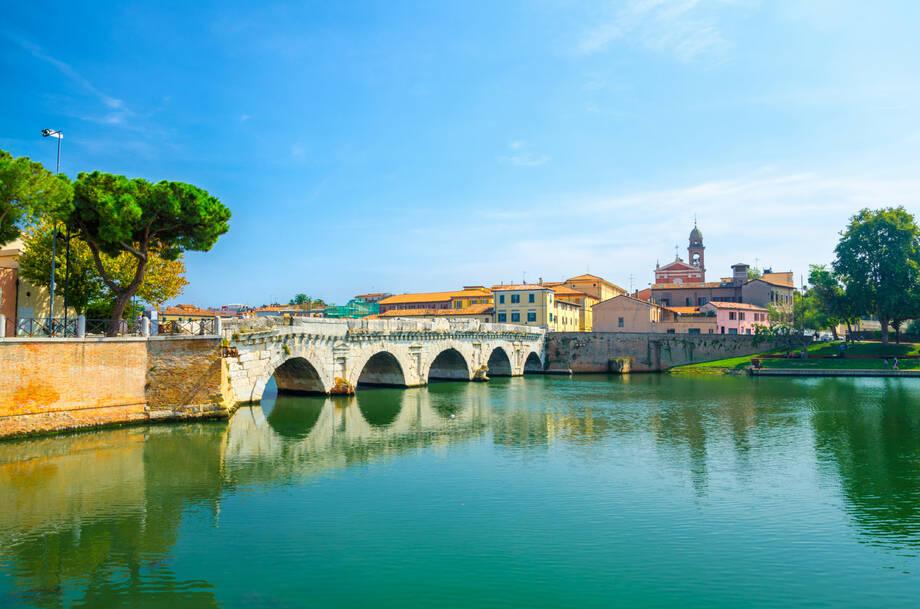 Italien Rimini - PKW Badereise