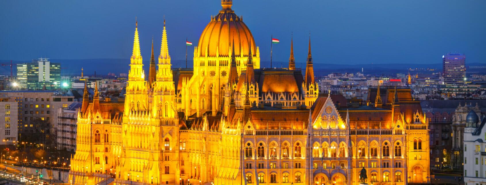 Salonzugfahrt Silvester in Budapest