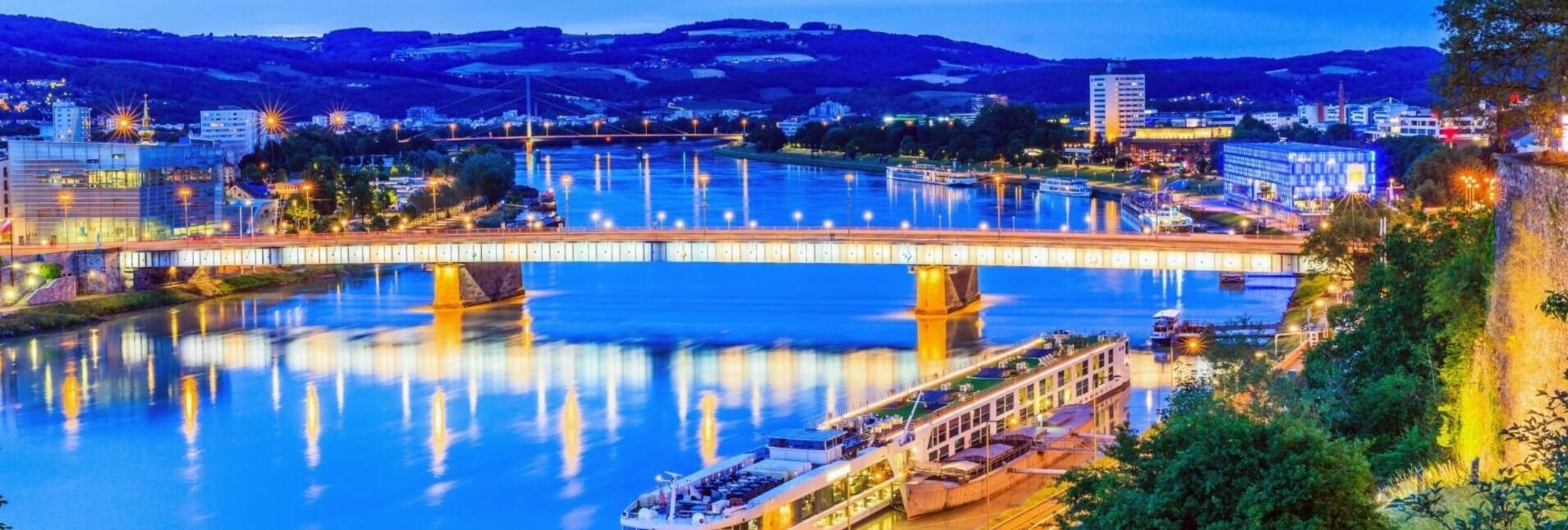 Donau in Flammen Linz