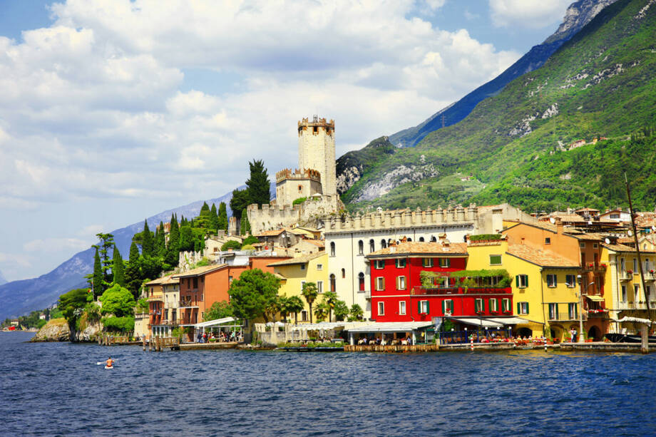 Italien - im PKW zwischen Alpen und Sizilien mit Baden