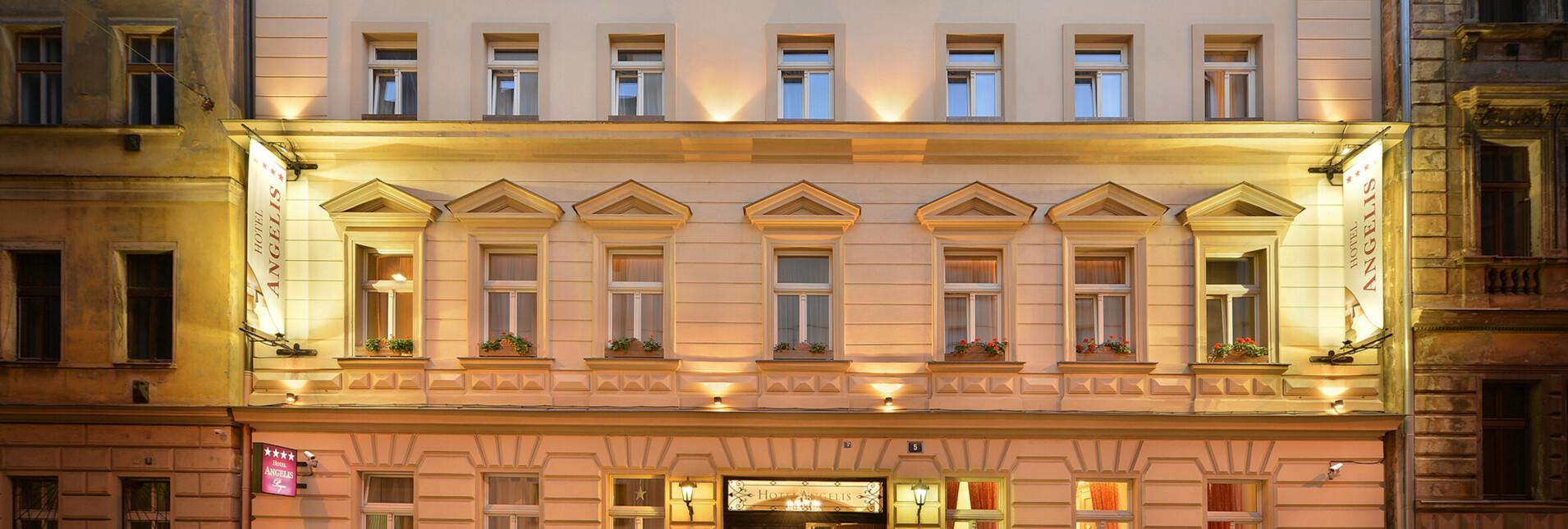 4* Hotel Angelis Prague