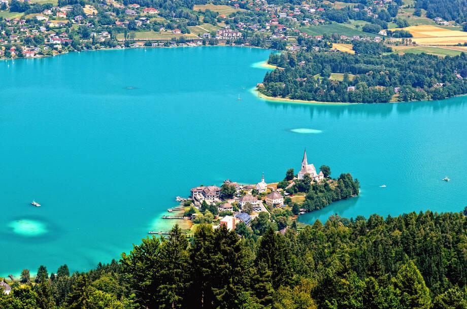 PKW Reise Kärnten - Kärntner Seen