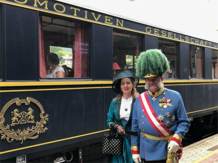 Tagesfahrt im Salonzug zum Kaiserfest in Bad Ischl