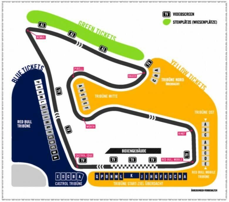 Tagesfahrt zum MotoGP am Red Bull Ring