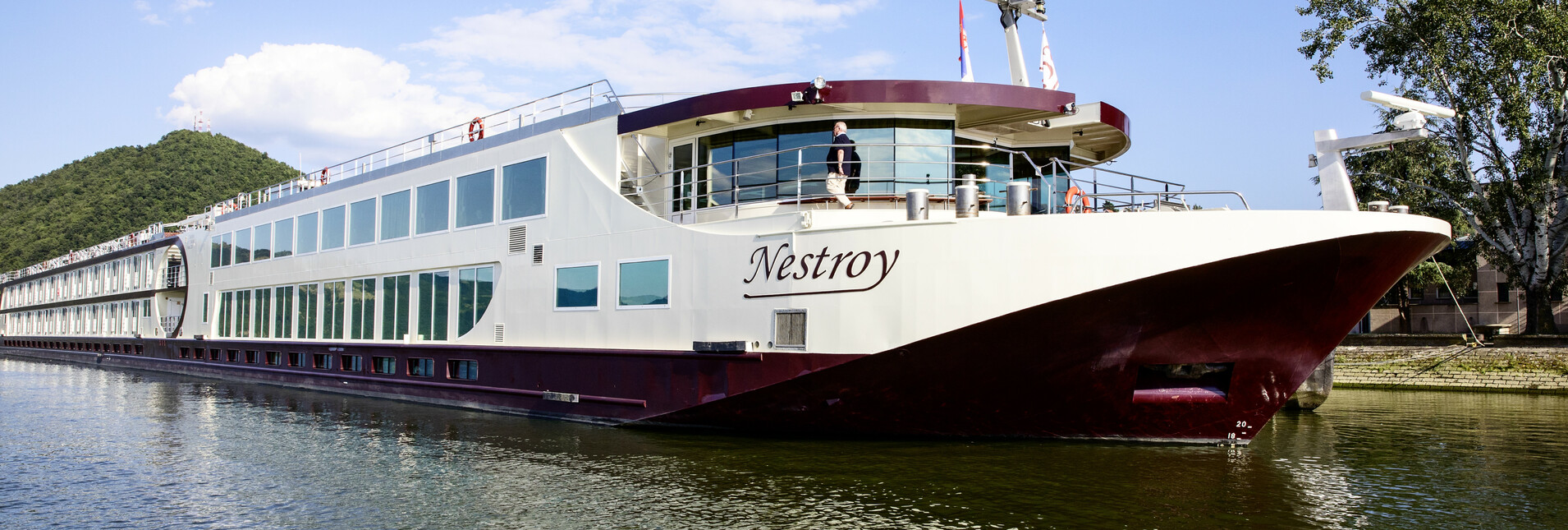 4* MS Nestroy - Auf der Donau vom Schwarzen Meer nach Wien
