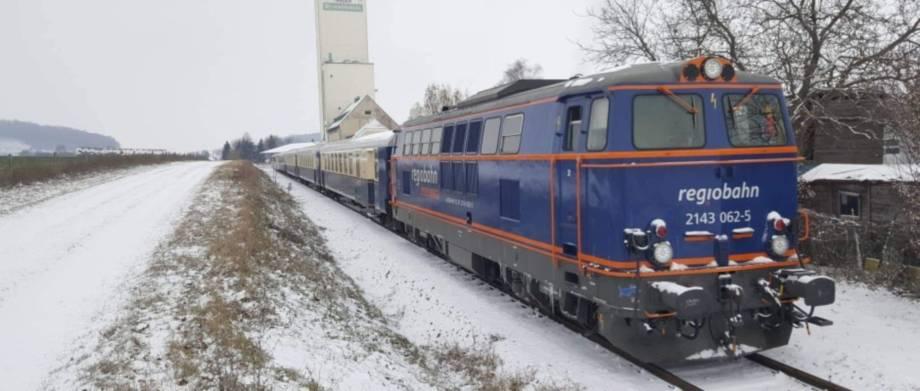 Weihnachtsmärkte Nostalgie- & regiobahn-Züge