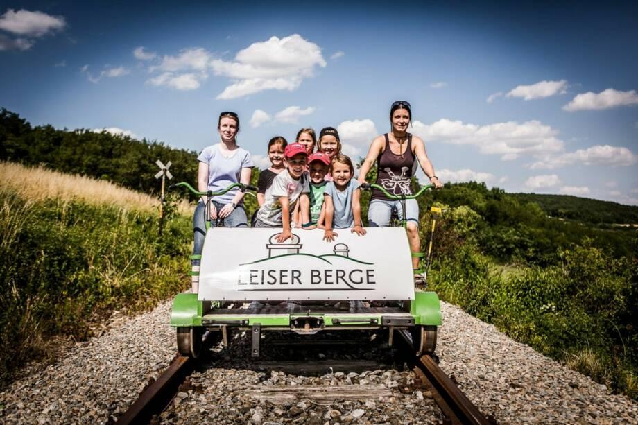 ErlebnisZug Leiser Berge - Weinviertel-Draisine & Naturpark